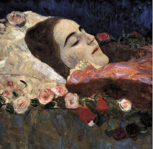 Klimt_ria_munk_on_deathbed_by_freep